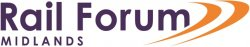 Rail Forum Midlands logo