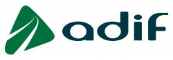 Administrador de Infraestructuras Ferroviarias (ADIF) logo